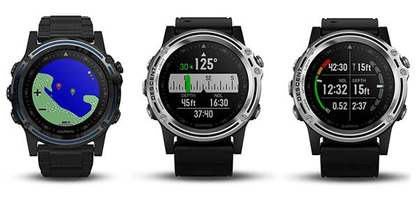 New Garmin Dive Computer-GPS Watches